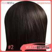 Натуральные волосы на заколках набор прямые тон №2, 120 грамм, 50 см