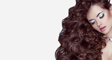 Волосы волнистые