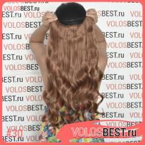 Волосы на леске завитые рыжие №30
