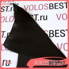 Волосы на леске прямые шоколад №4