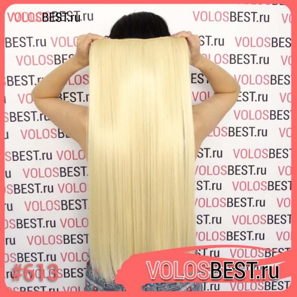 Волосы на одной ленте трессе блонд 613