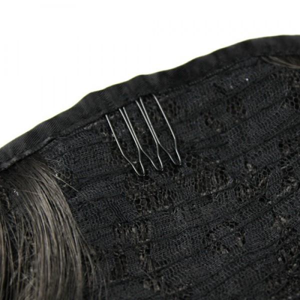 Накладной хвост черный №1