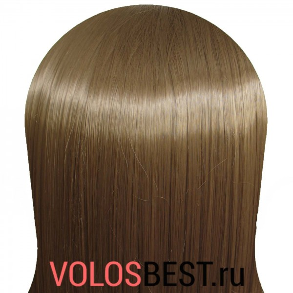 Волосы на заколках набор прямые русые тон №18т