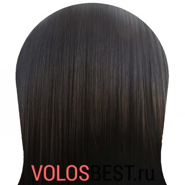 Волосы на заколках набор прямые натурально черные тон 1b