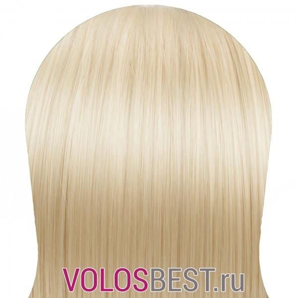 Волосы на заколках набор прямые золотистый блондин тон №24