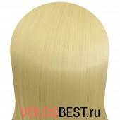 Волосы на заколках набор прямые шведский блонд тон №613