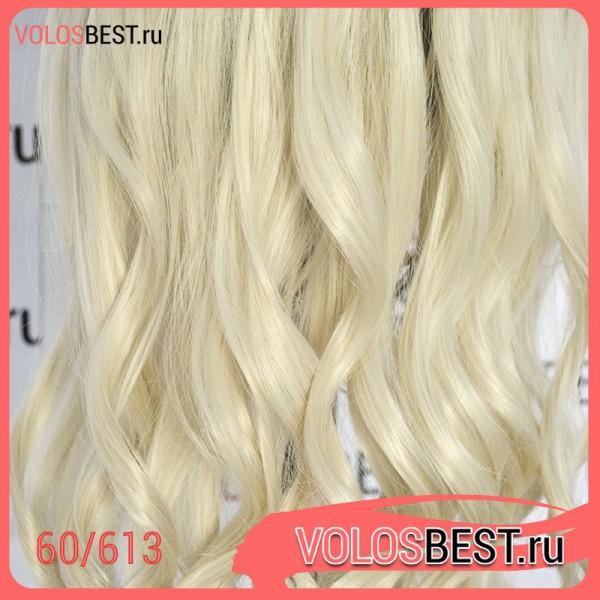Волосы на заколках голливудские локоны блонд №60/613