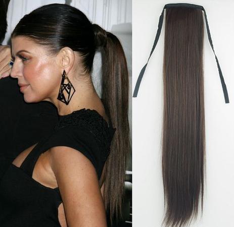 накладной хвост из исскуственных волос видео урок онлайн